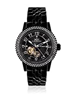 Hindenberg Reloj automático Woman 250-H Air Lady Pvd Negro 36 mm