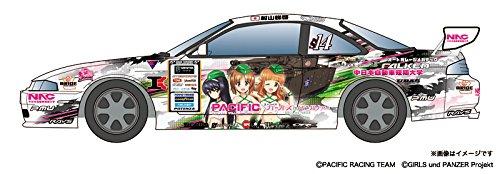 GPR-1 1/24 PACIFIC RACING NAC ガールズ&パンツァー S14タイプ D1グランプリ