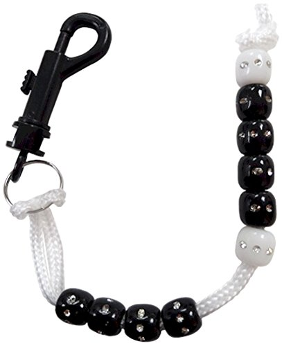JP Lann Golf Rhinestone Bead Score Counter, Black