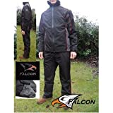 SALE!!! Falcon Golf Mens Waterproof Breathable Rainsuit Small