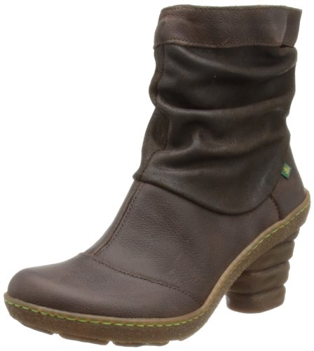 El Naturalista Womens Dome Brown Slouch Boots N770 4 UK, 37 EU