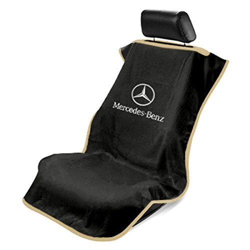 seat armour sa100mbzb black 39 mercedes benz 39 seat protector towel vehicles parts vehicle parts. Black Bedroom Furniture Sets. Home Design Ideas