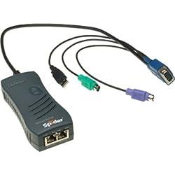1PORT PS2 Remote KVM Kvm/ip Spider