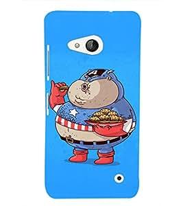 EPICCASE Funny Capatin America Mobile Back Case Cover For Microsoft Lumia 550 (Designer Case)