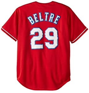 MLB Texas Rangers Adrian Beltre Red Alternate Replica Baseball Jersey, Red by Majestic