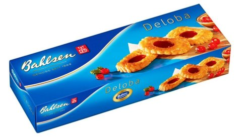 Bahlsen Deloba Cookies, 3.5-Ounce Boxes (Pack of 12)