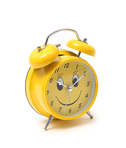 Bazaar Pirates Smiley Old Style Alarm Clock, Old Age, Old Fashioned, Kids  Room