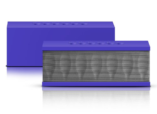 Photive Cyren Portable Wireless Bluetooth Speaker With Built In Speakerphone 8 Hour Rechargeable Battery - Purple