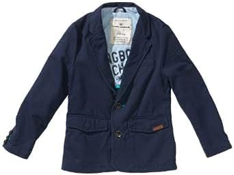 tom tailor kids jungen sakko 39001790030 twill blazer jacket 62 gr 176 blau 6448 bitter blue. Black Bedroom Furniture Sets. Home Design Ideas