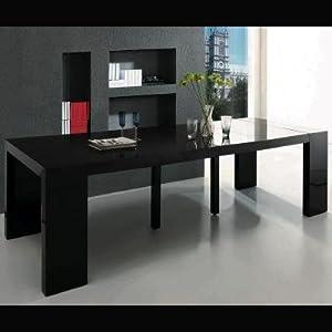 Table console extensible passez de 50cm 250cm en 30 sec cuisine - Table console extensible pied central ...