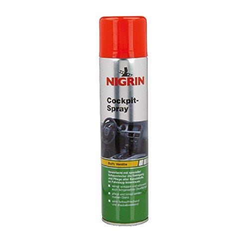 nigrin-cockpitspray-schaum-400ml-vanille-seidenmatt-cockpitreiniger