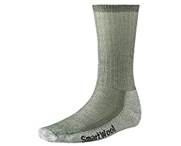 Smartwool Men's Hiking Medium Crew Sock (Medium, Sage)