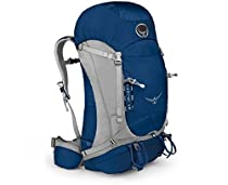 Osprey Packs Kestrel 58 Backpack (Talus Grey, Small/Medium)
