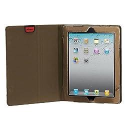 MyBat My Jacket Case for iPad 2, Luxury Coffee Hexagon Quilted (IPAD2MYJK156WP)
