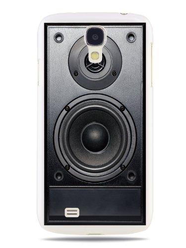 Grüv Premium Case 'Retro Vintage 80S 90S Dj Audio Speaker' Design For Samsung Galaxy S4 Iv I9500 Lte I9505 (Best Quality Designer Print On White Hard Cover)