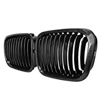 Euro Front Center Kidney Grille Grilles Grill For 1998 1999 2000 2001 Bmw E46 4 Door 4d Sedan 320i 323i 325i 328i 330i M3 Matte Black from BMW Grille