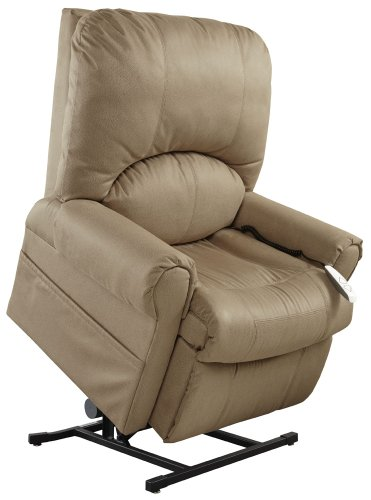 Mega Motion Easy Comfort Torch - Tall Lift Chair - Gold
