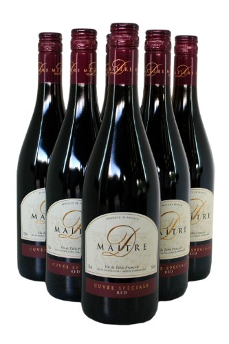Maitre D Cuvee Speciale Red Wine - Case - 6 x 75cl