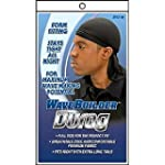 WAVE BUILDER Du-Rag with Extra Long T...