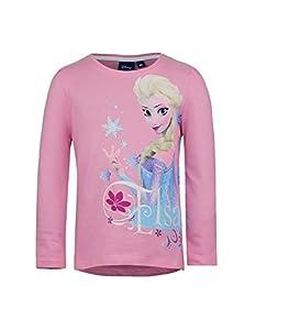 Disney Frozen - Die Eiskönigin Langarmshirt / Longsleeve '' Elsa '' Größe.104 / 4.Jahre - Rosa