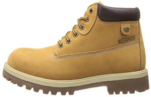 Skechers SergeantsVerdict - Botas de cuero para hombre, color beige (beige (wtn)), talla 46 59.95€