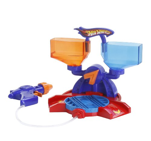 Hot Wheels Color Shifters Switch and Spray Playset