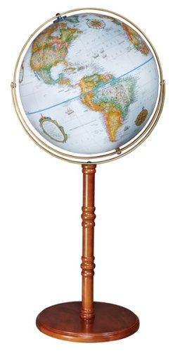 Replogle Globes Edinburgh II Globe, Blue Ocean, 16-Inch Diameter