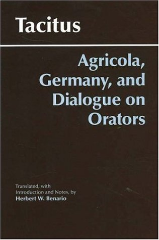 Agricola, Germany, And the Dialogue on Orators