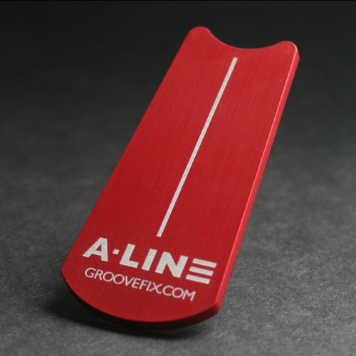 A·Line ball marker and putting aid - improve your one putt percentage
