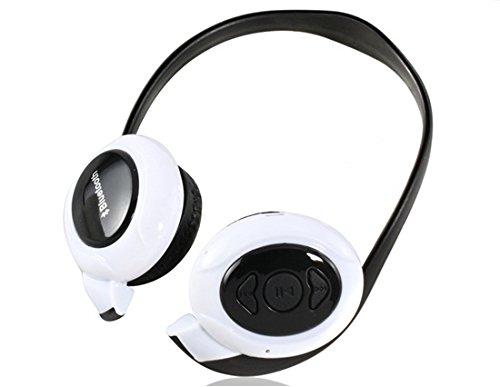 Bt-968 On-Ear Wireless Bluetooth Headphones (White)
