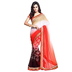 Pari Fashion Printed Bollywood Georgette Sari