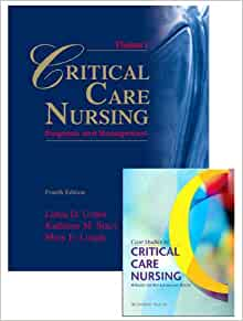critical care case study book Case studies in critical care nursing by sheila drake melander, september 2000, wb saunders company edition, paperback in english - 2nd edition.
