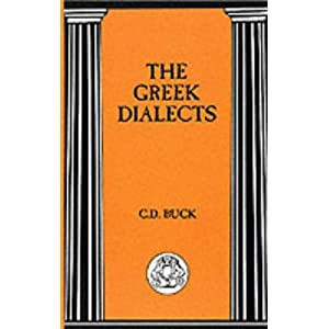 Amazon.com: Greek Dialects (Bcp Advanced Language S ...