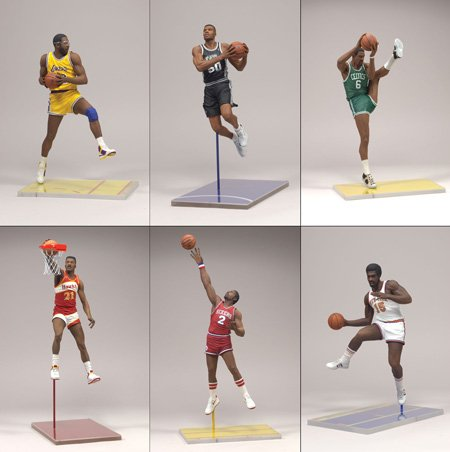 McFarlane Toys NBA Legends Series 3 Action Figure Set of 6 - Buy McFarlane Toys NBA Legends Series 3 Action Figure Set of 6 - Purchase McFarlane Toys NBA Legends Series 3 Action Figure Set of 6 (McFarlane, Toys & Games,Categories,Action Figures,Collectibles)