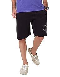 Elaborado Men's Casual Shorts - Black - 32 - EAIS5118BL3
