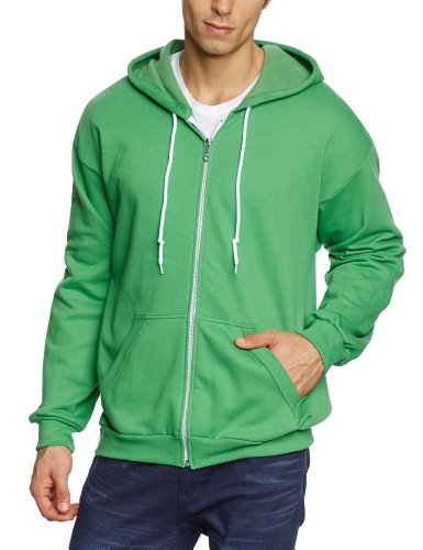 anvil-sweat-shirt-a-capuche-manches-longues-homme-vert-grun-gap-green-apple-fr-xx-large-taille-fabri