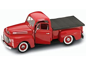 Yat Ming Scale 1:18 - 1948 Ford F-1 Pick Up Truck with Flatbed Cover from Yat Ming