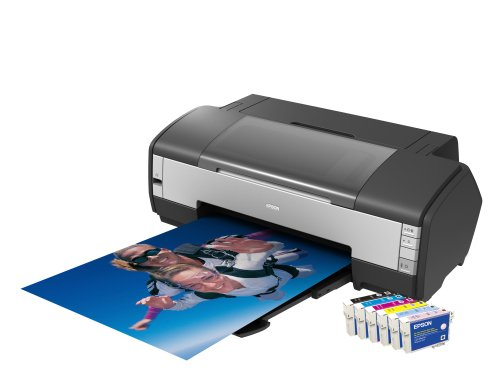 Epson Stylus Photo SP1400 A3+ Printer , Borderless Printing, Individual Ink Cartridges