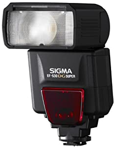 Sigma EF-530 DG Super Electronic Flash for Canon DSLR