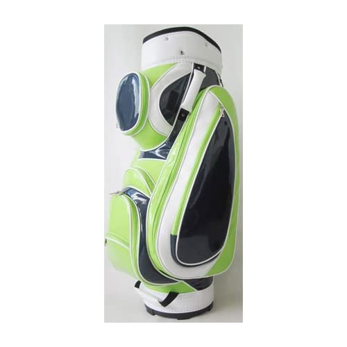 JGolf Ladies Classic Patent Golf Cart Bags   Classic Patent Lime