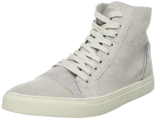 FIVE by Rio Ferdinand Men's Marley High Top Sneaker,Blanc,44 EU/11 M US