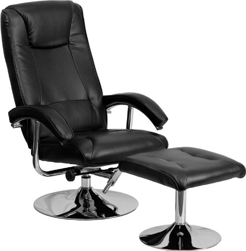 Swivel Recliner With Ottoman front-426400