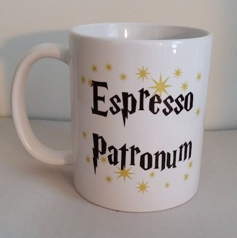 Espresso Patronum Magical 11 Ounce Coffee Mug Cool Birthday Present Idea For Lovers Men