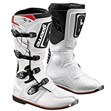 Gaerne GX-1 Motocross Boots - White (Size 9 - 45-5219)