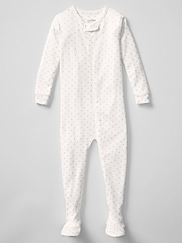 Gap Baby Glitter Dot Footed Sleep One Piece Size 2 Yrs front-929367