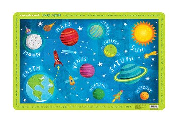 Crocodile Creek Solar System Placemat (Space Placemat compare prices)