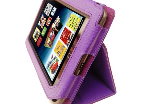 M2U Genuine Leather Stands Cover Case for Nook