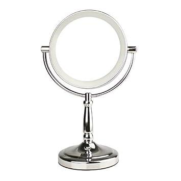 9 fuloon cadeau no l no l 7 double face miroir lumineux led de de maquillage vanit sans. Black Bedroom Furniture Sets. Home Design Ideas