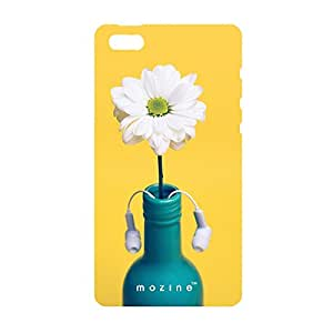 Mozine Bottle Has Ears printed mobile back cover for Apple Iphone 4s