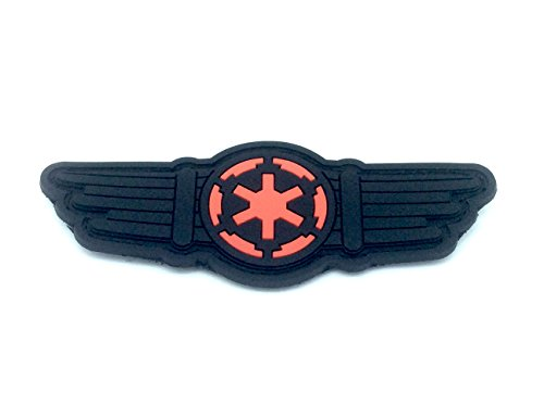 Star Wars Tie Fighter Pilot Ali Cosplay Toppa Airsoft Velcro PVC Patch